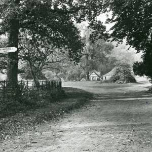Blakemere, view at road junction