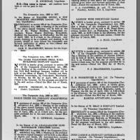 1921, Drill Hall  - information