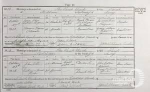 Marriage Certificate - James Twyman
