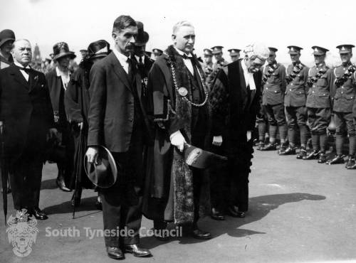 British Legion Memorial Service, South Marine Park July 1929