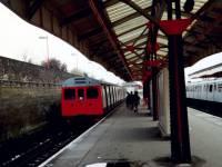 District Line train, Wimbledon Station
