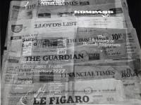 Newspapers at Wimbledon Library