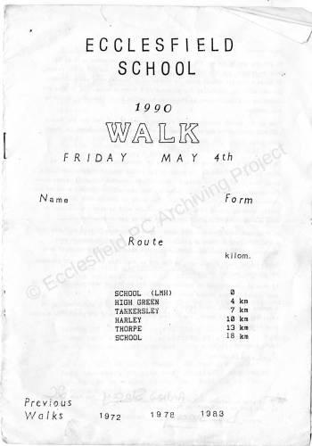 Ecclesfield School  Walk 4th May1990 001.jpg