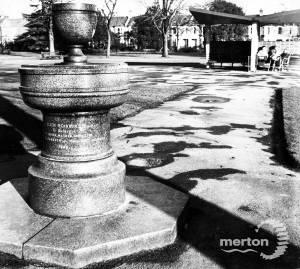 South Park Gardens, Wimbledon: Drinking Fountain