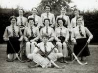 Wimbledon County School for Girls:  Hockey team, 1956-7
