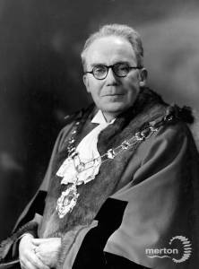 Alderman G.R.Madgwick, Mayor 1951 - 1952