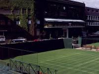 All England Lawn Tennis Club, Wimbledon: Club Entrance from Court No. 3