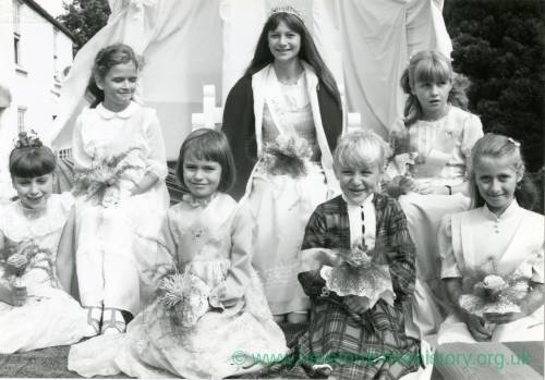 RG1957 Whitchurch carnival queens, 15th September 1983.jpg