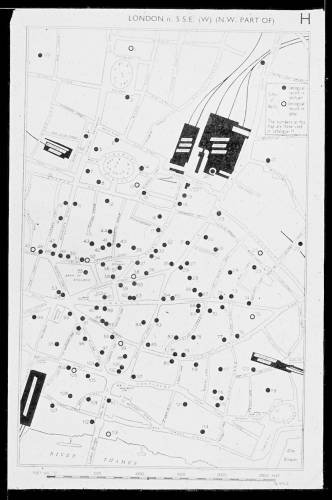 Well locations in the City of London