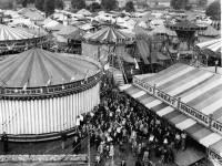 Mitcham Fair. Fair ground rides