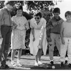 Chapeltown Methodist Church, Junior Church Garden Party 1986 b.