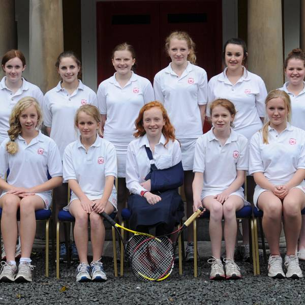 Girls tennis 2012 U14