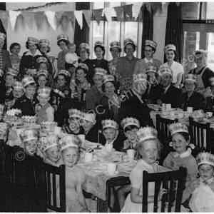 Coronation celebration 1953 at Miners Welfare, Chapeltown