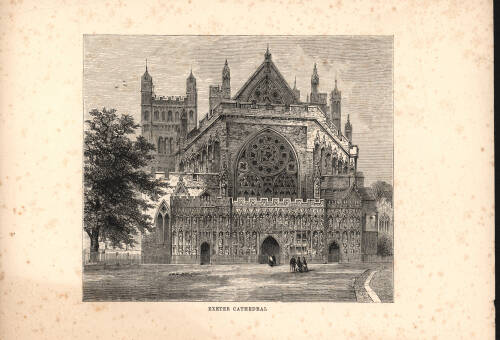 Exeter Cathedral, 1893, Exeter