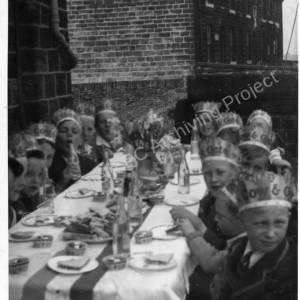 Coronation Tea Party, Potter Hill Methodist Chapel 1953