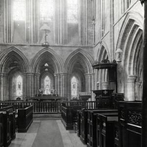 Dore Abbey, Altar and Choir Stalls