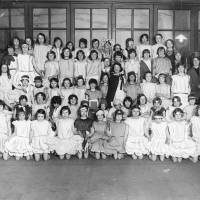 Bedford Road play centre, group photograph, Bootle, 1935