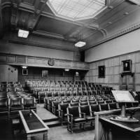 1 Birdcage Walk, lecture theatre c.1940 (1)
