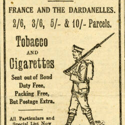 First World War adverts