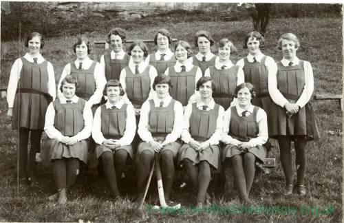 Ross Ladies' Hockey Club 1929, May 9 1929
