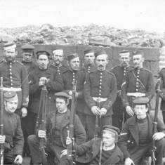 Submarine Mariners and 3rd Durham Artillery
