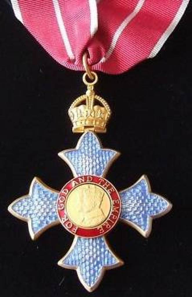 OBE - The Most Excellent Order of the British Empire