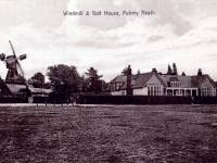 The windmill and Golf clubhouse, Wimbledon Common