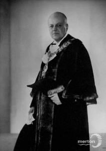Sidney Black  O. B. E., Wimbledon councillor, 1952-54
