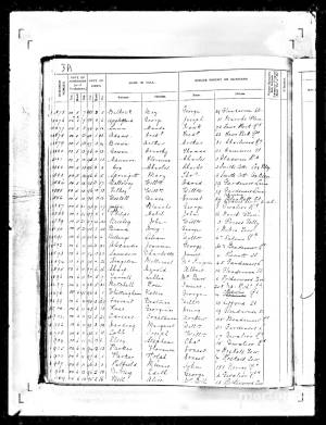 School Admission Record for Nellie Whittingham