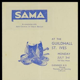 St Ives Guildhall, July 1950