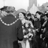 Bootle Royal Visit During the Blitz