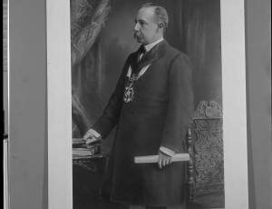 1899-1900, John Fairclough, Mayor of Leigh