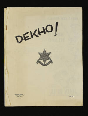 DEKHO! The Journal of The Burma Star Association - Issue No. 002, Year 1952