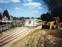 Croydon Tramlink - Construction - Mitcham Junction
