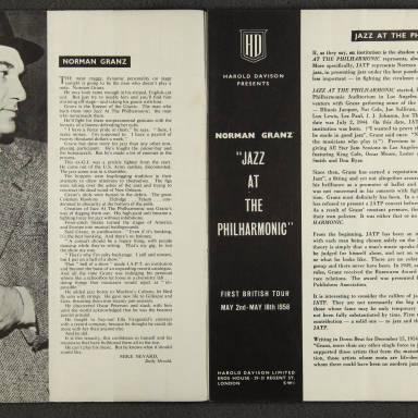 Norman Granz' Jazz at the Philharmonic First British Tour 1958 002