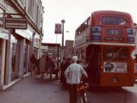 Wimbledon Bridge: 93 bus stop