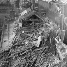 Bomb damage to Tyne Dock Engineering Company Premises