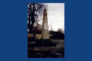 Cricket Green obelisk