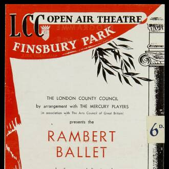 Finsbury Park Open Air Theatre, London, May–July 1950