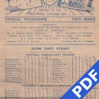 19480918 Official Programme Coventry City Home FC