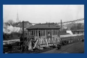Wimbledon, Railway, Signal Box 'D'