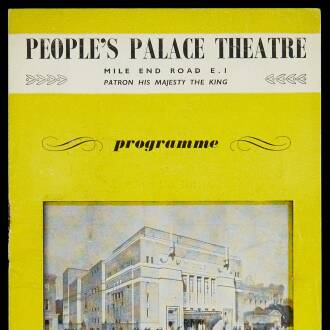 People's Palace Theatre, London