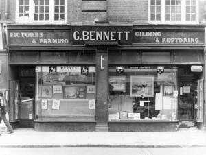 Worple Road, Wimbledon: C. Bennett, Pictures & Framing