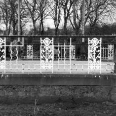 Iron work on Bandstand in West Park