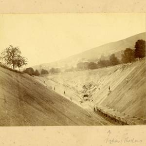 Building Malvern Tunnel