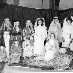 High Green Methodist Chapel, Nativity group.