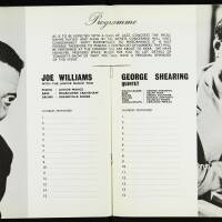 The George Shearing Quartet and Joe Williams, with the Junior Mance Trio, British Tour - September October 1962 006
