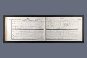 Marriage Certificate for John Fleckney - brother of Private Frank Fleckney