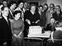 Celebrating the anniversary of Morden Spastics Society, 1956