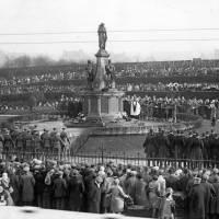 Bootle War Memorial Armistice Day c1925